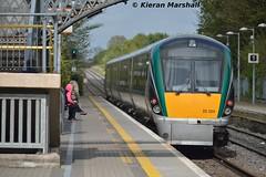 22024 passes Portlaoise, 11/5/15 (hurricanemk1c) Tags: irish train rail railway trains railways irishrail rok rotem emptytrain portlaoise 2015 icr ety iarnrd 22000 22024 ireann iarnrdireann 4pce 1545laoistraincaredepotheuston