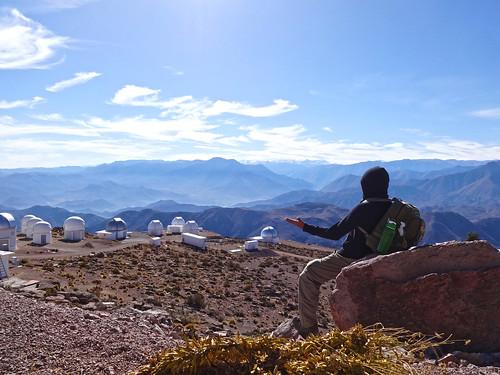No alto do Cerro Tololo, CTIO