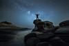 contemplant la nit (tofercu) Tags: mar costabrava maig 2015 vialactea nitgh contemplació roquesplanes tonifernandez nitsea