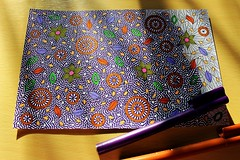 2 (enericollection) Tags: art nature illustration pen ink painting design sketch spring artist pattern graphic drawing doodle therapy healing markers coloringbook arttherapy coloringpage zentangle zendoodle