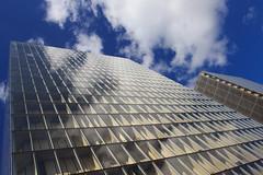 Reflet sur le ciel (StephanExposE) Tags: sky paris france building canon architechture library reflet ciel reflect bnf bibliothque iledefrance batiment 1635mm 600d 1635mmf28liiusm stephanexpose