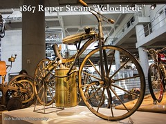 1867 Roper Steam Velocipede (Bob Kolton Photography) Tags: classic museum vintage motorcycles steam motorcycle roper barbermotorsports bobkoltonphotography barbervintagemotorcycles