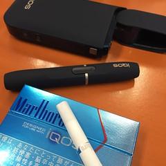 iQOS บุหรี่ไฟฟ้า ควันระเหยเร็ว ไม่เหม็น ไม่มี tar สาเหตุของมะเร็งในปอด ลองละวันนึงไม่ได้แตะบุหรี่เลย ไม่ได้คิดจะเลิกบุหรี่ แต่เห็นมันเท่ห์ดี แนะนำคนที่ไม่ดูดบุหรี่ให้มาลองอันนี้นะ 🚬😁