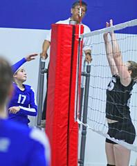 IMG_1554 (SJH Foto) Tags: school girls net club high team jump shot action teens battle teenager spike midair volleyball block burst favourite mode tweens
