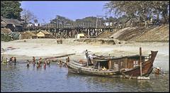 Daily Life Along the Irrawaddy River (ioensis) Tags: life river burma daily myanmar bathing mandalay irrawaddy jdl ioensis 02971bjohnlangholz2016
