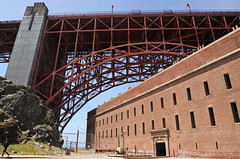Golden Gate Bridge and Ft Point - 2016 (tonopah06) Tags: sanfrancisco california ca arch goldengatebridge fortpoint sanfranciscobay ftpoint ggb 2016
