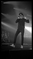 G-Eazy in Concert, Amsterdam (jann.haemers) Tags: blackandwhite bw netherlands its amsterdam dark out concert tour live stage performance nederland front row when rapper melkweg greyscale geazy