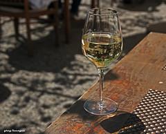a cold Riesling on a warm spring day (greg luengen) Tags: food closeup still essen wine drink enjoy savory wein genuss