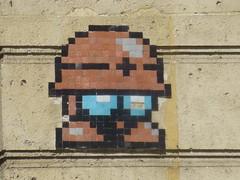 Mettaur aka Lil Soldia (Little Soldier) (Archi & Philou) Tags: mosaic tiles mosaque carreau paris11 mettaur lilsoldia