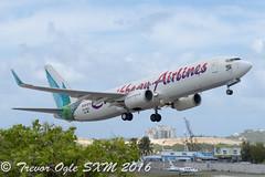 DSC_8097Pwm (T.O. Images) Tags: st airport princess kingston jamaica caribbean boeing juliana airlines kin maarten sxm 737 737800 9ybgi