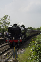 CJM_3201 (cjmillsnun@btinternet.com) Tags: heritage trains hampshire steam locomotive flyingscotsman steamlocomotive romsey nikond7000