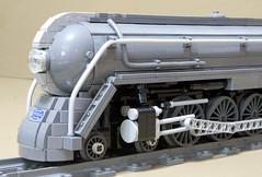 Dreyfuss_Hudson_11 (SavaTheAggie) Tags: lego steam engine locomotive hudson 464 henry dreyfuss new york central system nyc railroad train trains streamlined streamliner j3a