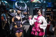 Anime Expo 2016 (vsmak350) Tags: animeexpo animeexpo2016 ax ax2016 leagueoflegends syndra ahri cosplay spiralcats tasha doremi