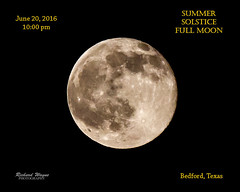 Summer Solstice Moon 6-20-16-4983 (Richard Wayne Photography) Tags: moon bedford texas astronomy 2016 summersolsticemoon