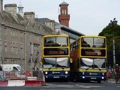 AX 493 & AV 248 Pearse Street 09/06/16 (Csalem's Lot) Tags: dublin bus volvo ax av 15b dublinbus 56a pearsestreet alx400 ax493 av248