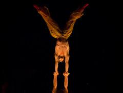 Balance (AnuragJajoo17) Tags: street canada man muscles quebec outdoor circus muscular montreal ripped talent streetartist balance strength abs