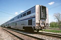 Superliners on the International (craigsanders429) Tags: amtrak railroadtracks passengertrains passengercars durandmichigan amtraktrains amtraksuperliners amtraksinternational