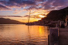 Sunset in Ketchikan Alaska (Lee Edwin Coursey) Tags: 2016 alaska ketchikan uncruise unitedstates adventure cruise landscape nature ocean sunset town travel vacation