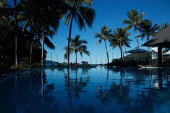 Hamilton Island,Whitsundays (Bob Bain1) Tags: travel blue nature reflections australia palmtrees whitsundays queensland hamiltonisland canon550
