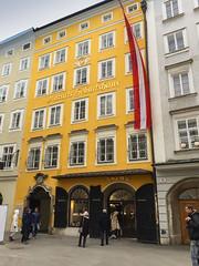 Mozarts Geburtshaus Salzburg