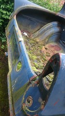 Eco friendly ford anglia (stu105e) Tags: moss abandonedcar 105e fordanglia basemodel