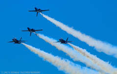 Blues Angels Group-2 (Mr. Low Notes) Tags: blue mountain canon airplane fighter outdoor aircraft military navy jet airshow angels vehicle tribute hornet smoky fa18 70d