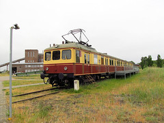 Die Peenemnder S-Bahn (transport131) Tags: historischtechnisches museum peenemnde historical technical train pocig sbahn dessauer waggonfabrik