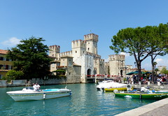 Sirmione Castle Explore (Jane.Des) Tags: brescia lombardy northern italy castle garda lake simione