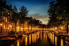 Amsterdam (sebastian-friedrich) Tags: amsterdam sony sonya6000 a6000 sonyalpha sunset nightscene beautiful lights nightlights
