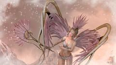 Wisdom Angel (Anita Armendaiz) Tags: angel astralia belt catwa head fantasy feather gacha hair maitreya mandala mesh nanika rare sanarae second life applier tatto shiny shabby the garden wings ysys