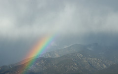 Taos Mountain Rainbow 04