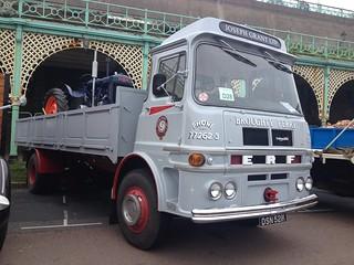 ERF LV54G dropside lorry DSN521K