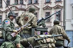 M8 Greyhound, US Army, Convoy of Liberty 2014, Pilsen (AirWolfCZ) Tags: world usa greyhound festival army war wwii pilsen m8 1945 liberation 2014