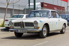 D M TW 5518H Front (rOOmUSh) Tags: auto old white classic car germany bmw cs 3200 1965 inisrael bertonecoupe holyland1000