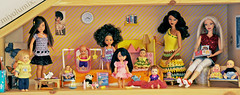 Barbie Kids' Room (miyalumix) Tags: family girl asian happy stacie doll babies body ooak barbie style tommy whitney kelly tori fashionista generation mattel aa trichelle