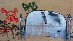 Bisser / Bellevue - 8 apr 2015 (Ferdinand 'Ferre' Feys) Tags: streetart graffiti belgium belgique belgië urbanart graff ghent gent gand graffitiart arteurbano artdelarue bisser urbanarte