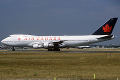 Air Canada B747-133 C-FTOE LHR 12/08/1995 (jordi757) Tags: london heathrow airplanes boeing 747 lhr b747 avions aircanada egll b747100 cftoe