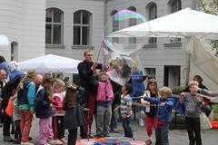 Seifenblasenfabrik Bubblebo Seifenblasenshow beim Tag der offenen Tür im Bundesministerium für Landwirtschaft 15