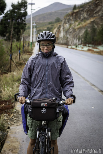 Deszcz w drodze do Dali