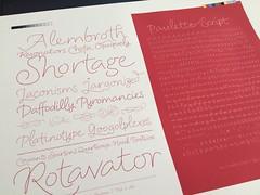 Paulette Script in progress (Christophe Badani) Tags: script paulette badani typophage glyphsapp