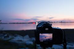 #BTS (cvillandry (Instagram & Twitter @cvillandry)) Tags: camera sunset boston canon aviation 6d photogaphy avgeek 5dmkiii