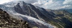 Glaciar de Trient desde  Fentre d'Arpette (PacotePacote) Tags: alpes tour mont glaciar fentre blanc trient tmb darpette