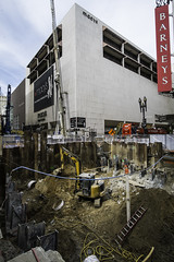 Central Subway Construction (mark.hogan) Tags: sanfrancisco california architecture downtown wideangle unionsquare centralsubway