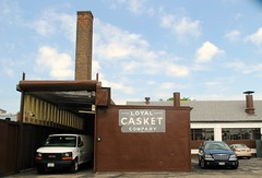 Loyal Casket Company (Cragin Spring) Tags: city urban usa chicago building illinois industrial factory unitedstates unitedstatesofamerica chitown casket il company smokestack co westside chicagoillinois chicagoil windycity eastgarfieldpark loyalcasket loyalcasketco loyalcasketcompany