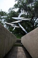 Towards the rotating knives... (jasonlttl) Tags: nola sculpturegarden