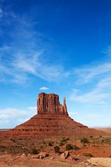 Vertical Look at the Left Mitten (jpmckenna - Denali Bound) Tags: arizona landscape sandstone desert highdesert monumentvalley navajotribalpark getoutside leftmitten iconicsouthwest