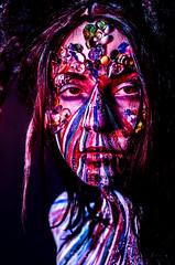 Mibstress 8 (Jef Harris) Tags: portrait lightsandshadows ottawa bodypaint wig facepaint homestudio creativemakeup jefharris