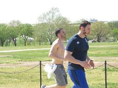 IMG_0651 (FOTOSinDC) Tags: shirtless man men muscles muscle candid handsome running sweaty sweat shorts jogging runner tee jogger