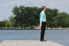 Mido's Graduation (evan.guest) Tags: lake senior campus reflecting university graduation cap gown drake robes backflip 2016 mido midhad mrvoljak