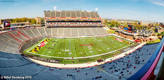 CapitalOneFieldPanorama.jpg (hillels) Tags: park game college sports field sport photography one football spring team dj outdoor stadium maryland capitol practice terps byrd durkin testudo terp